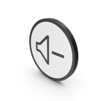 Icon Sound Minus PNG & PSD Images
