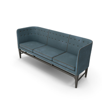 Light Blue Sofa PNG & PSD Images