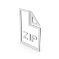 Symbol ZIP File PNG & PSD Images