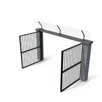 Prison Gate Module Open PNG & PSD Images