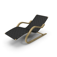 Black Leather Lounge Chair PNG & PSD Images