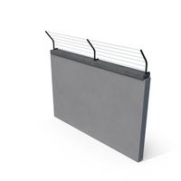 Concrete Fence Module PNG & PSD Images