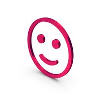 Smiling Emoji Metallic PNG & PSD Images
