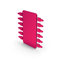 Symbol Microchip Metallic PNG & PSD Images