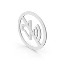 No Sound Symbol PNG & PSD Images