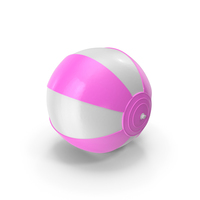 Beach Ball Pink PNG & PSD Images