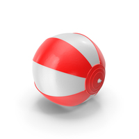Beach Ball Red PNG & PSD Images