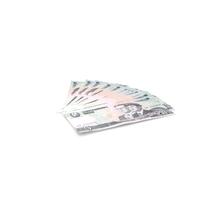 Fan Shaped North Korea 5 Won Banknotes PNG & PSD Images