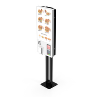 Fast Food Self Ordering Kiosk PNG & PSD Images