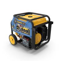 FIRMAN T07571 Tri Fuel Generator PNG & PSD Images
