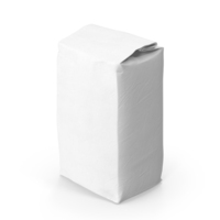 Flour White Paper Bag 2lb PNG & PSD Images