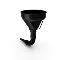 Fuel Funnel with Handle and Flexible Spout Extension PNG & PSD Images