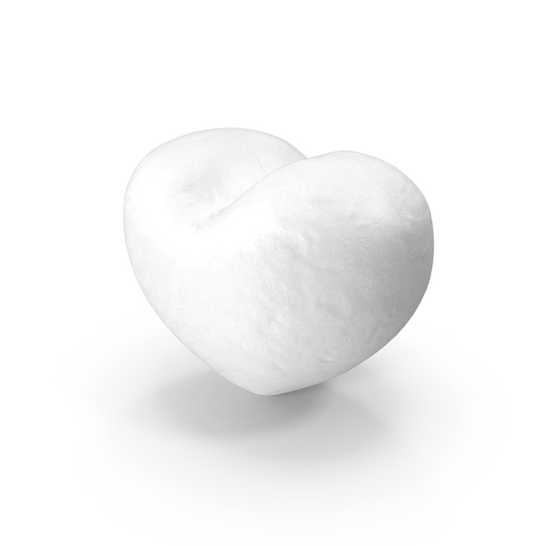 Heart Shaped Snowball PNG & PSD Images