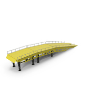 Heavy Duty Portable Trailer Loading Ramp PNG & PSD Images