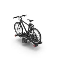 Hitch Bike Racks with Mountain Bike PNG & PSD Images