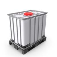 IBC Container 640 Litre UN Approved Plastic Pallet PNG & PSD Images