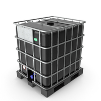 IBC Container 1000 Litres UV Resistant PNG & PSD Images