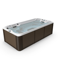 Jacuzzi 16ft Power Active Spa with Water PNG & PSD Images