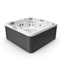 JACUZZI J235 Hot Tub Grey PNG & PSD Images
