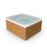 Jacuzzi Virtus Hot Tub with Water PNG & PSD Images