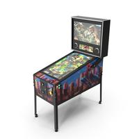 Jurassic Park Virtual Pinball Machine PNG & PSD Images