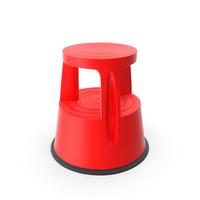 Kick Stool Stair Red PNG & PSD Images