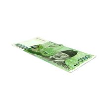 Korea Republic Won KRW 10000 Banknote PNG & PSD Images