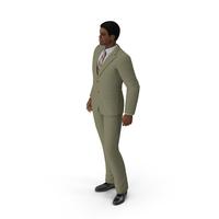 Light Skin Black Man in Formal Suit PNG & PSD Images