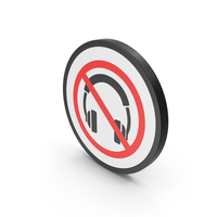 Icon No Headphones PNG & PSD Images