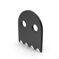 Symbol Ghost Black PNG & PSD Images
