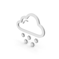 Symbol Weather Snowing PNG & PSD Images
