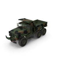 M939 Military Dump Truck Green PNG & PSD Images
