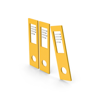 Symbol Document Binder Yellow PNG & PSD Images