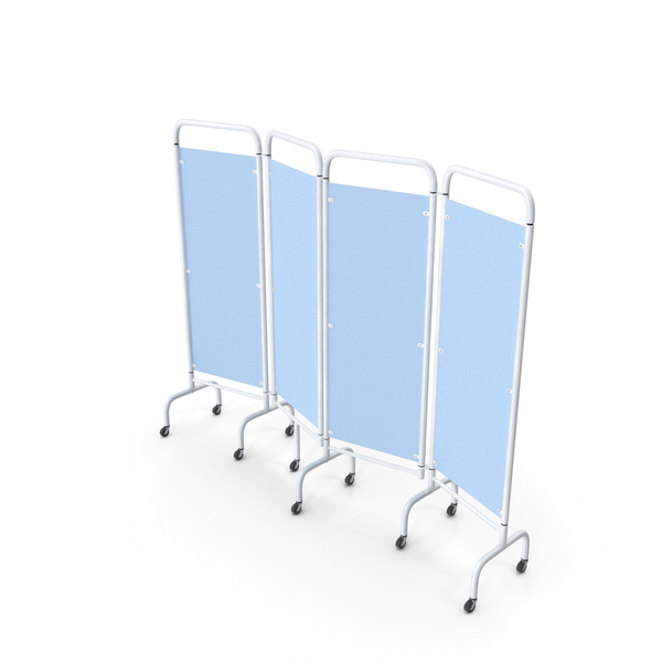 Mobile Folding Hospital Ward Screen PNG & PSD Images