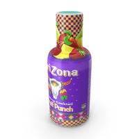 Beverage Bottle Arizona Fruit Punch 500ml PNG & PSD Images