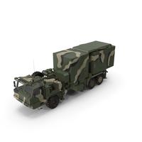 Multi Function Mobile Tracking Radar Vityaz 50R6 Camo PNG & PSD Images