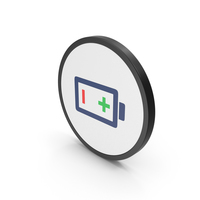Icon Battery Colored PNG & PSD Images