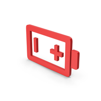 Symbol Battery Red PNG & PSD Images