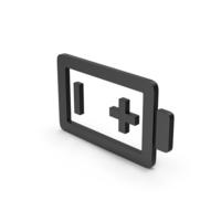 Symbol Battery Black PNG & PSD Images