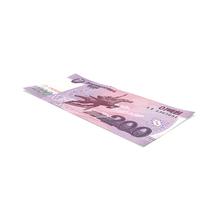North Korea 200 Won Banknote PNG & PSD Images