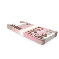 North Korea 5000 Won Banknotes 2008 Pack PNG & PSD Images