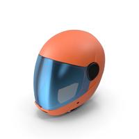 Orange Skydiving Helmet PNG & PSD Images