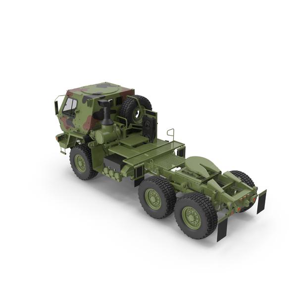 Oshkosh FMTV 5 Ton Tractor Camo PNG & PSD Images
