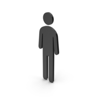 Symbol Male Toilet Black PNG & PSD Images