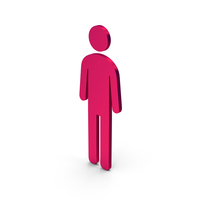 Symbol Male Toilet Metallic PNG & PSD Images