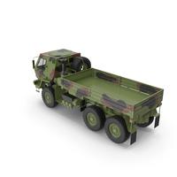Oshkosh FMTV Camouflage Cargo Truck 6x6 PNG & PSD Images