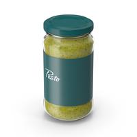 Pesto Sauce Pot 6oz PNG & PSD Images