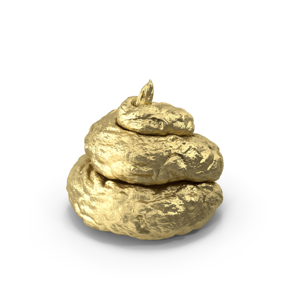 Pile Of Crap Golden PNG & PSD Images