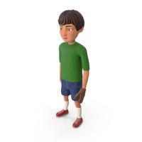 Cartoony Boy Baseball Player PNG & PSD Images