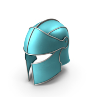 Knight Helmet Blue PNG & PSD Images